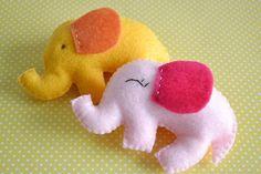 Colorfull Elephants Baby Mobile Crib Mobile Nursery by TheMemis, $70.00