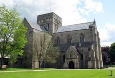 The church of the Hospital of St Cross and Almshouse of Noble Poverty, Winchester, Hampshire, England (from the northwest) | Flickr - Photo ...