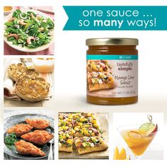 I love to share the amazing videos Tastefully Simple and all of my sister consultants put out.  They truly display how extremely versatile and simple these delicious products are.  So light and simple... perfect for summer picnics and family gatherings.    http://www.madetobeamomma.com/mason-jar-sweet-citrus-salad/    Not to mention the versatility of the Mango Lime Sauce...    https://www.youtube.com/watch?v=f9diZ9vIzAU     www.tastefullysimple.com/web/msteiner