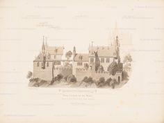 Titel   Burg Cochem. (Aus: Architektonisches Skizzenbuch, H. 127/4, 1874.)…