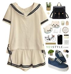 """""""Yesstyle.com"""" by novalikarida ❤ liked on Polyvore featuring Pixie Pair, BeiBaoBao, Threshold, The French Bee, Casetify, Organix, LAFCO, Gorjana, NARS Cosmetics and Ahava"""