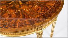 szalonasztal antik bútor