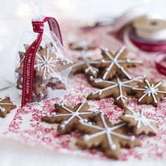 Try these delicious Iced and Spiced Biscuits - they're filled with the taste of Christmas!