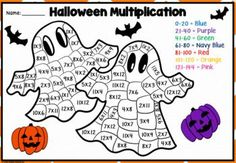 This is a great independent maths activity for students to do during Halloween. It will brighten up your class and develop mental maths skills at the same time! The multiplication and division worksheets will challenge your students, whilst the addition and subtraction are great differentiation. This is one your class will love! Multiplication And Division Worksheets, Kids Math Worksheets, Math Activities, Teaching Math, Teaching Resources, Mental Maths, Halloween Math, Math Skills, Addition And Subtraction