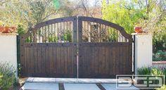 Dynamic Garage Door   Custom Motorized Driveway Gates : Architectural Gates