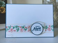Mixed Borders by Stampin' Up.  Designed by Sharlene Meyer from www.magpiecreates.com #magpiecreates #stampinup