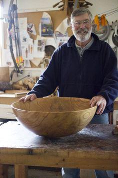 Siberian Elm Bowl | www.bowlandpitcher.com