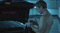 Chris Vance as Frank Martin in Transporter: The Series: 1x01 Trojan Horsepower.