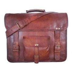 GENUINE LEATHER HANDMADE VINTAGE STYLE BAG/ MESSENGER/ SATCHEL/ LAPTOP/ COLLAGE/ CABI ECOCRAFTWORLD http://www.amazon.com/dp/B00K57XIS4/ref=cm_sw_r_pi_dp_2aYItb13YJX176CM