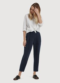 Shop for the Stretch Silk Trouser at Kit and Ace. Kit and Ace provides technical clothing for men and women.