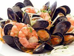 Włoska sałatka z owoców morza