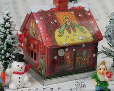 Jolly the Gnome Home par ClaySoul sur Etsy