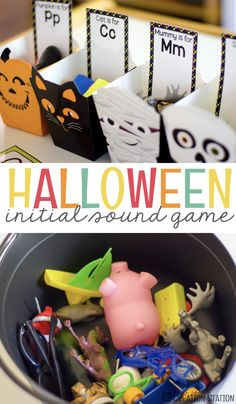 Creating engaging activities for your little learners will not only help them develop skills you have created for them, but it will make learning FUN! Our initial sounds Halloween sort does just that and you can grab it for free, too! Free Beginning Sound Halloween Literacy Activity - Mrs. Jones' Creation Station #FreeTeachingResources #Halloween #LiteracyActivity #TeachersPayTeachers #MrsJonesCreationStation