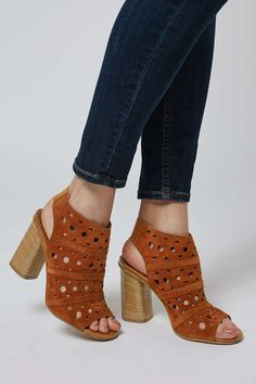 NUVO Lasercut Sandals