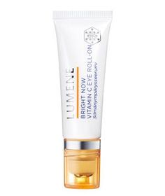 Lumene Bright Now Vitamin C Eye Roll-on: Formulated with light-reflecting pigments and encapsulated vitamin C.