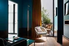 "How did you reference both historical and modern French design? ""Le Roch Hotel conveys my own vision of Paris. An amazing story in a very cozy and smart space. We can find a part of Paris's soul in this hotel thanks to the timeless decor, the modern feel which is hidden in the mix of the atmosphere: Hammam with Moroccans earthenware in the rooms, a secret pool, and a high end spa."""