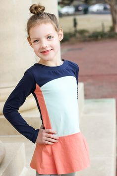 Lilygiggle Cecille Peplum for Project Run and Play