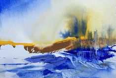 Watercolor art by Joe Cibere is located just north of Los Angeles. Watercolor Art, Landscape, Painting, Style, Swag, Watercolor Painting, Scenery, Painting Art, Landscape Paintings