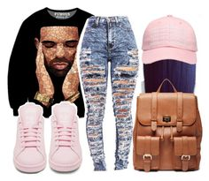 """Untitled #177"" by copperperro ❤ liked on Polyvore featuring adidas, October's Very Own and Sole Society"