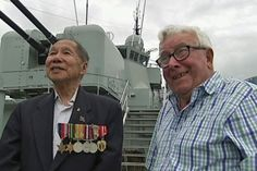 Australian WWII Veterans Reunited After 68 Years - http://www.warhistoryonline.com/war-articles/wwii-veterans-reunited-68-years.html