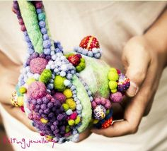 Chen Yan 'Cherry Yan' felting jewelry -(BIAD)