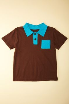 Boy's polo by Paulina Quintana, made in the US.