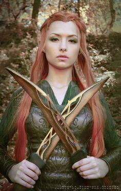 Tauriel #cosplay by AngelaBermudez.deviantart.com #Hobbit