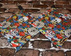 Ed Hardy Tattoo Pot Holder Set by deezignz. Explore more products on http://deezignz.etsy.com