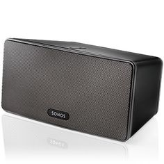 Sonos Play:3 Wireless HiFi Player. I REALLY want a speaker that I can take outside. Not sure if this is the right one in terms of size, but the wireless feature is definitely a win!