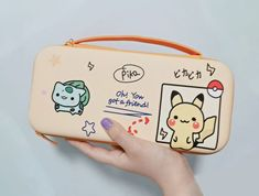 Pikachu Mignon, Nintendo Switch Case, Nintendo Lite, Video Game Shop, Nintendo Switch Accessories, Turtle Pattern, Pokemon, Cute Pikachu, Shell