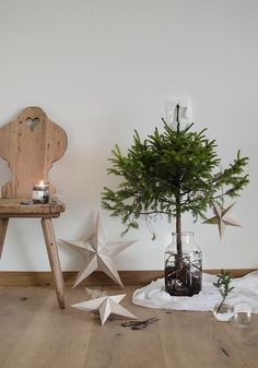 Wooden stars (via Bloglovin.com )