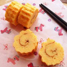 一番簡単♪10分で伊達巻 Fun Cooking, Japanese Food, Side Dishes, Appetizers, Plates, Fruit, Ethnic Recipes, Blog, Culture