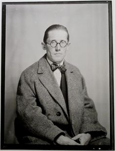 Man Ray - portrait of Le Courbusier