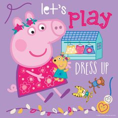 Let's Play by Peppa Painting Print on Wrapped Canvas