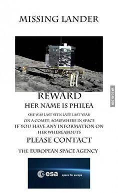 Missing Lander!