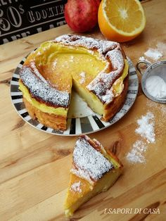 TORTA SOUFFLE ALL'ARANCIA SENZA BURRO E OLIO Torte Cake, Cake & Co, Sweet Recipes, Cake Recipes, Dessert Recipes, Sweet Light, Best Apple Pie, Light Cakes, Sweet Cooking