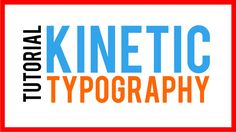 How To Kinetic Typography Tutorial - Adobe After Effects animation tutorial