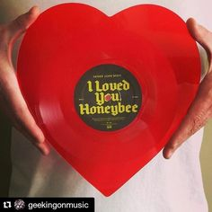 """#Repost @geekingonmusic Happy Valentines Day! This 2015 Record Store Day [exclusive shaped 7"""" single] by Father John Misty has an acoustic version of """"I Love You Honeybear"""" on side A and the exclusive """"Never Been A Woman"""" on side B. It's a great compliment to the full album which just so happens to be one of my favorites from last year. by modernwax"""