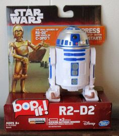 Star Wars 2015 R2-d2 Bop-it With C-P30 Voice - The Force Awakens Hasbro Disney | Toys & Hobbies, TV, Movie & Character Toys, Other TV/Movie Character Toys | eBay!