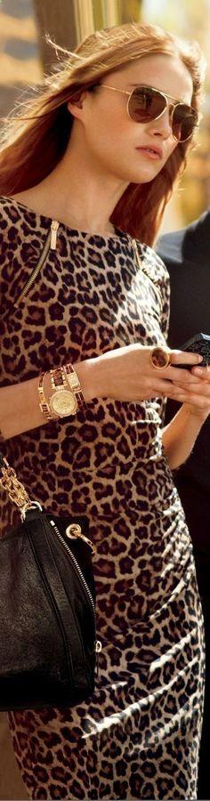 michael kors leopard