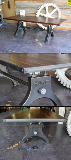 #LGLimitlessDesign #Contest  Custom Hure Tables by Vintage Industrial in Phoenix, AZ