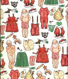 Vintage 1979 Uncut Paper Doll Gift Wrap Wrapping by EvelynnsAlcove Christmas Gift Wrapping, Christmas Paper, Vintage Christmas, Christmas Crafts, Elegant Christmas, Vintage Wrapping Paper, Vintage Paper Dolls, Paper Toys, Paper Crafts