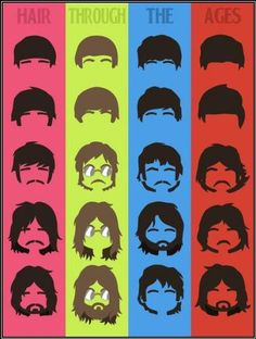 ♥ the beatles hair. Celebrity Haircuts, Hey Jude, Beautiful Collage, Theatre Makeup, Saddest Songs, Cool Bands, The Beatles, Rock And Roll, Famous People