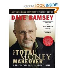 http://amzn.to/HzrX6i THE TOTAL MONEY MAKEOVER, by Dave Ramsey  Debt reduction and fiscal fitness for families, by the radio talk-show host.
