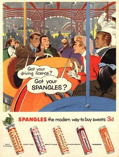 What is a good topic for a research paper involving advertising in the 1950's to the 1960's?