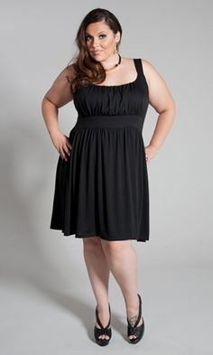 Adorable tank dress with straps that are actually wide enough for a bra. Cool and comfortable for the summer. $29.99