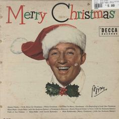 Buy Bing Crosby - Merry Christmas (Vinyl LP Record) at Northern Volume, an independent Canadian online vinyl record store. Christmas Vinyl, Christmas Albums, Christmas Past, Christmas Music, Retro Christmas, Vintage Holiday, White Christmas, Christmas Classics, Christmas Ideas