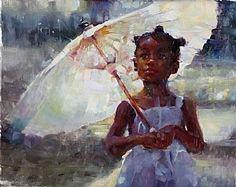 Sun Drenched by Michael Maczuga Oil ~ 16 x 20 Black Girl Art, Black Women Art, African American Artist, African Art, Black Artwork, Afro Art, Classical Art, Renaissance Art, Aesthetic Art