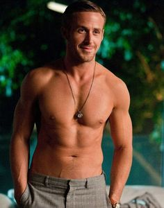 Ryan Gosling- just turn on some dirty dancing music and i am good from there(: bahaha crazy stupid love