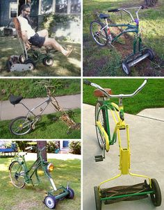 #Lawnmowers - whole other show in itself.